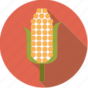 cereal, cob, corn, food, foodix icon
