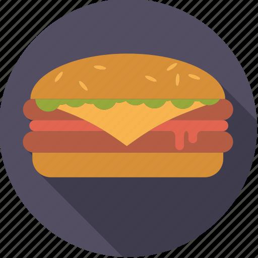 cheese, cheeseburger, fast food, food, foodix, hamburger, junk food icon