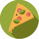 cheese, fast food, food, foodix, junk food, pizza, salami icon
