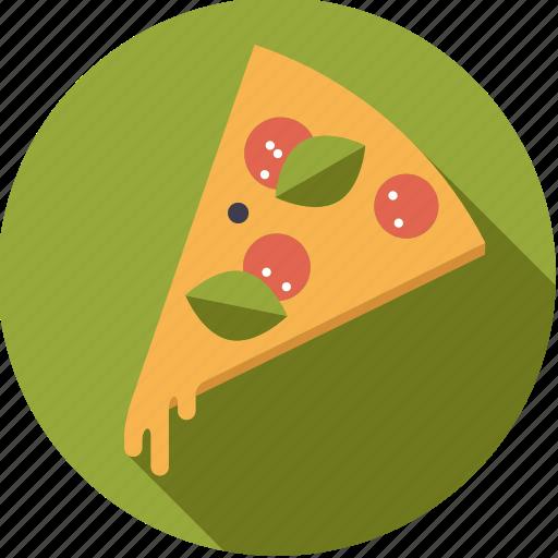 cheese, fast food, food, foodix, junk food, pizza, salami icon