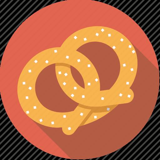 bavarian, food, foodix, pastry, pretzel, salt, snack icon