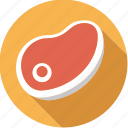 food, foodix, meat, steak icon