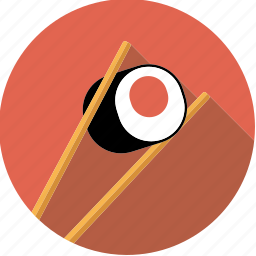 asian, chopsticks, food, foodix, japanese, seafood, sushi icon