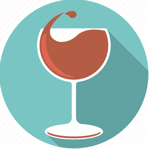 beverage, drink, drop, foodix, glass, red, wine icon
