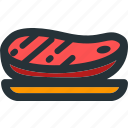 barbecue, bbq, beef, food, grill, kitchen, steak icon