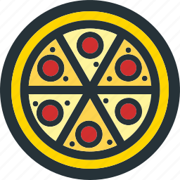 eat, fast, food, junk, meal, pizza, restaurant icon