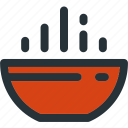 bowl, cooking, food, hot, kitchen, meal, soup icon