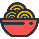 bowl, chinese, food, kitchen, meal, noodle, noodles icon