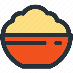 bowl, cooking, food, healthy, kitchen, meal icon