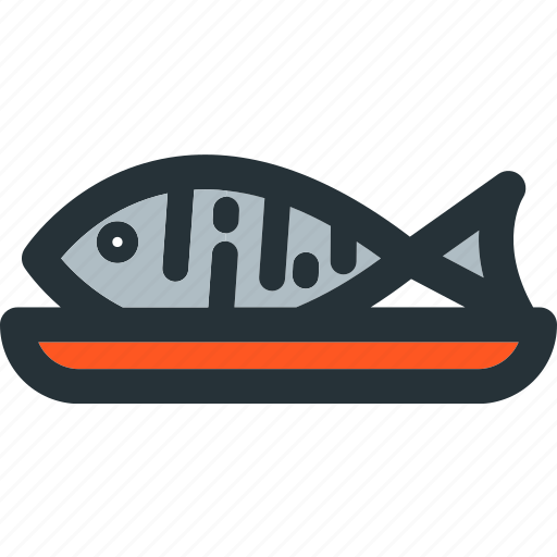 cooking, fish, food, healthy, meal, sea, seafood icon