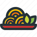 cooking, dish, food, healthy, meal, noodles, pasta icon