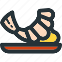 cooking, eat, food, kitchen, meal, seafood, shrimp icon