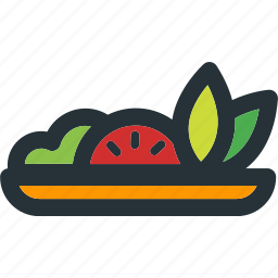 food, healthy, meal, sallad, vegetable, vegetarian icon