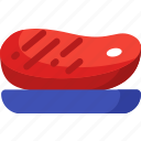 barbecue, bbq, cooking, food, grill, steak icon