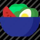 salad, cooking, food, healthy, meal, vegetable