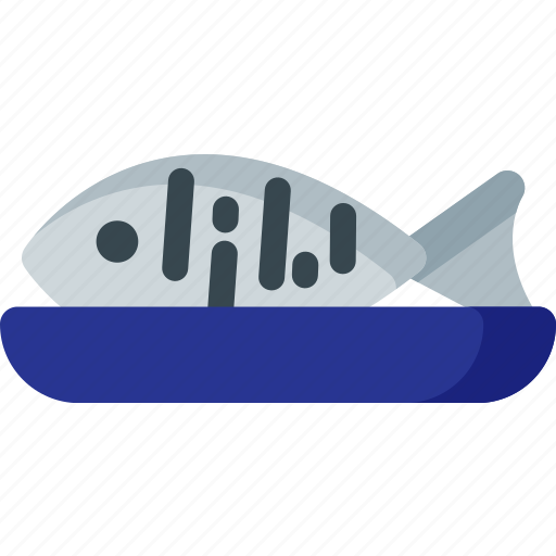 cooking, fish, food, kitchen, meal, seafood icon