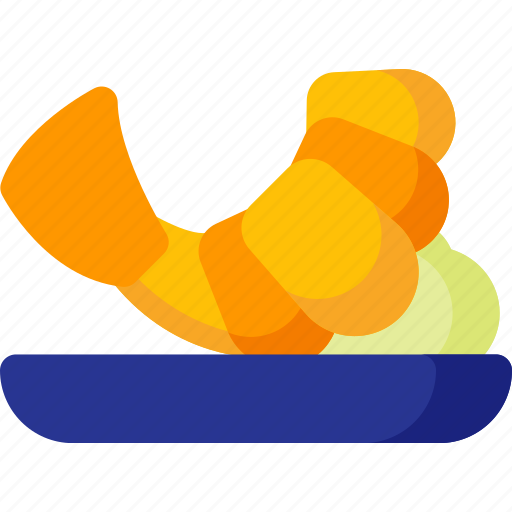 cooking, fish, food, meal, seafood, shrimp icon