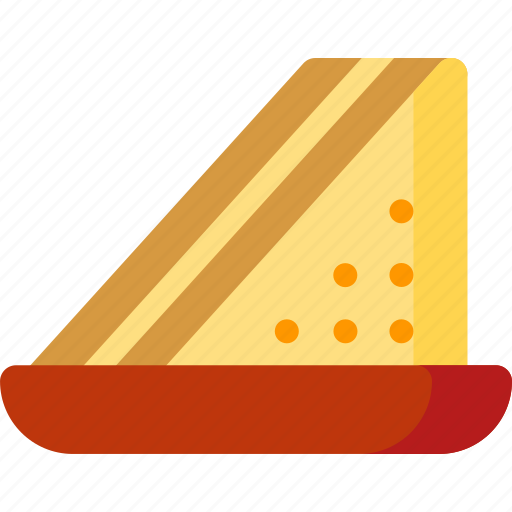 breakfast, cooking, fast, food, restaurant, toast icon