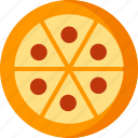 cooking, fast, food, italian, meal, pizza, restaurant icon