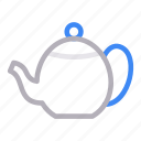 coffee, drink, hot, kettle, teapot icon