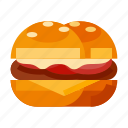 beverage, burger, fast food, food, western food icon