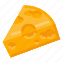 beverage, cheese, food, health, milk icon