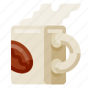 beverage, coffe, drink, food, mug icon