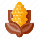beverage, corn, food, health, vegetable icon