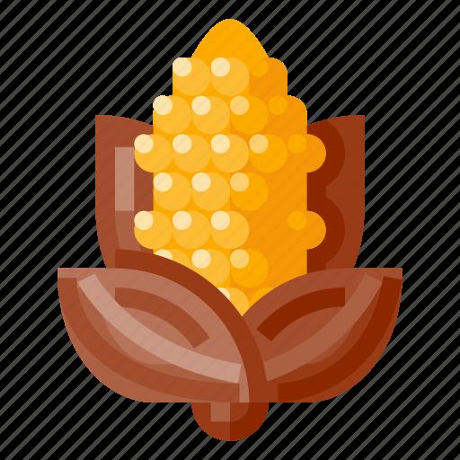 beverage, corn, food, health, vegetable icon