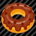 bakery, beverage, donut, fast food, food, pastry, sweeties icon