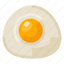 beverage, chicken, egg, food, fried, health icon