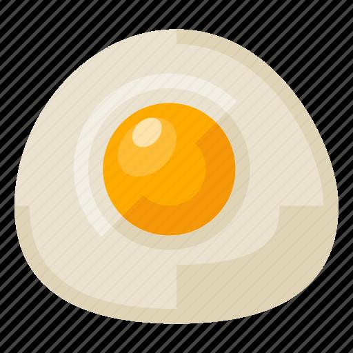 beverage, chicken, egg, food, fried, health icon