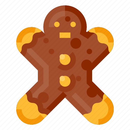 bakery, beverage, food, gingerbread, pastry, snack icon