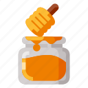 bee, beverage, food, health, honey icon