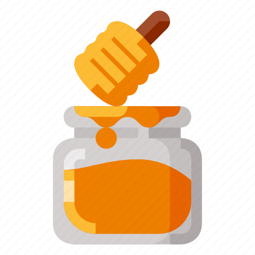bee, beverage, food, health, honey icon