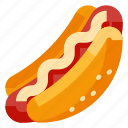 beverage, dog, fast food, food, hot icon