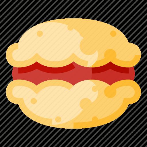 bakery, beverage, food, macaron, snack icon