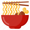 beverage, bowl, food, noodle, oriental icon