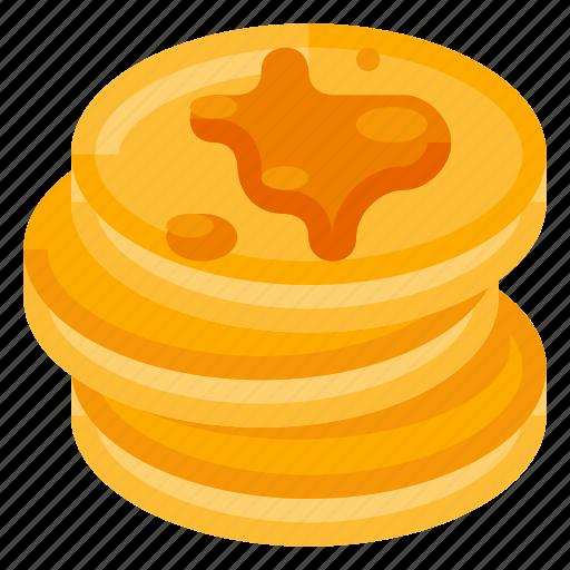 beverage, breakfast, food, honey, pancake, sweeties icon