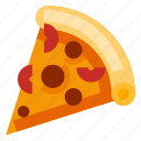 beverage, fast food, food, italy, pizza icon