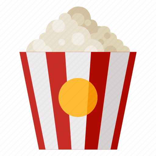 beverage, corn, fast food, food, popcorn, snack icon