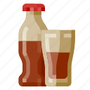 beverage, bottle, fast food, food, glass, softdrink icon