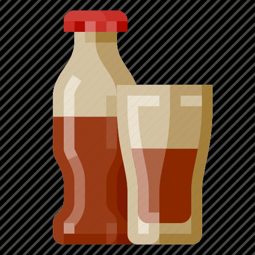Beverage, bottle, fast food, food, glass, softdrink icon - Download on Iconfinder