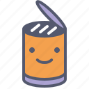 bottle, can, conserve, food icon