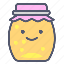 food, honey, jam, jar, marmalade icon