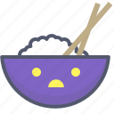 asiatic, food, grow, rice icon
