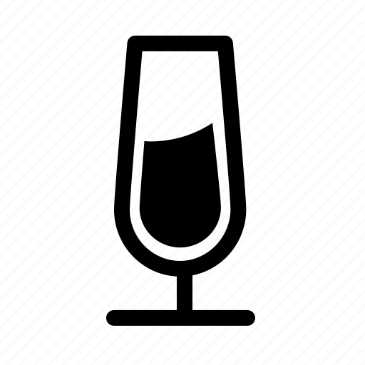 alcohol, anniversary, celebration, champagne, glass, newyear icon