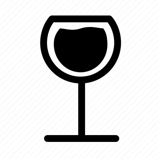 drink, glass, red, vine, wine icon