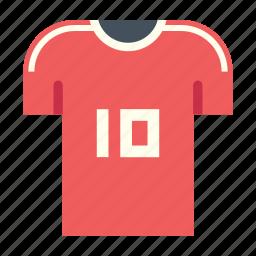 football, futsal, player, soccer, uniform icon