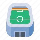 arena, field, football, stadium icon